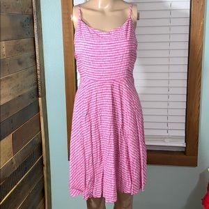 Old Navy Pink Sun Dress Large